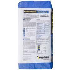Наливной <b>пол</b> Weber <b>Vetonit</b> Finish Level 20 кг в Москве – купить ...