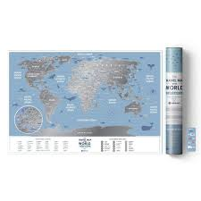 "Скретч-<b>карта Travel</b> Map ""Weekend World"" бренда <b>1DEA</b>.<b>me</b> ..."