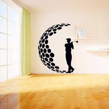 wall decal family art bedroom decor golf vinyl wall stickers d visual effects decals living room wall art stickers wall art d