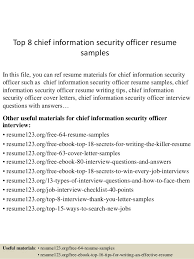 top  chief information security officer resume samplestop  chief information security officer resume samples in this file  you can ref resume