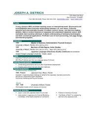 Student Cv Template For First Job Student CV Template CV Templat