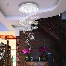 get quotations 40120 cm artistic living room chandelier lighting crystal chandelier crystal lamp bedroom ceiling spiral bedroom chandelier lighting
