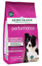 <b>Arden Grange</b> Performance With Fresh <b>Chicken &</b> Rice Dog Food