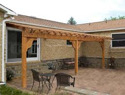 Pergolas  House roof and Construction on PinterestWoodworking Pergola Plans Attached To House PDF   Pergola plans attached to house Pre drill and Attach the Ledger to the House Strong Pergolas An