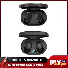 <b>A6S</b> TWS Wireless Earphone HiFi <b>Bluetooth 5.0</b> Voice control Sport ...