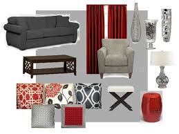 gray red modern ideas future living room gray red and creamyes please