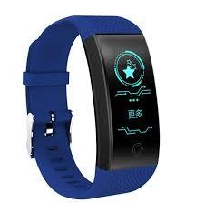 <b>Умный</b> фитнес-<b>браслет ZDK QW18</b>, голубой - <b>QW18</b> LightBlue ...
