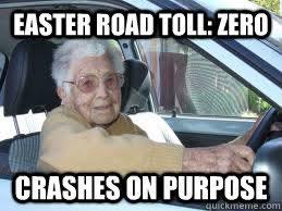 Scumbag Elderly Driver memes | quickmeme via Relatably.com