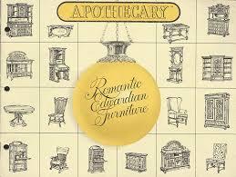 cover of pulaski furniture catalog circa late 1970s antique pulaski apothecary style