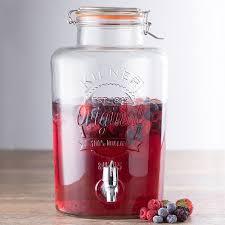 <b>Диспенсер для напитков Clip</b> Top 8 л от Kilner (арт. K_0025.403V ...