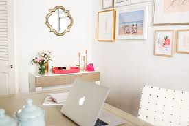 chic home office decor: chic and functional office daccor by laurenconradcom