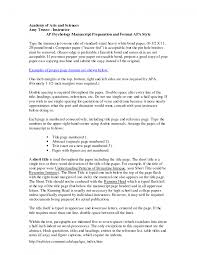 cover letter example of apa format essay an example of a essay in cover letter apa formatted paper template using apa style get writing an research outline templateexample of