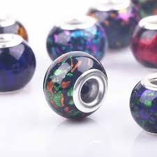 10pcs mixed colors round glass butterfly pattern charm click snap press buttons 18mm