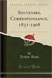 arthur ranc souvenirs correspondance 1831