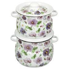 <b>Набор эмалированной посуды Сибирские</b> товары Анютины ...