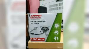 <b>Газовая горелка coleman</b> fyrepower alpine купить в Московской ...