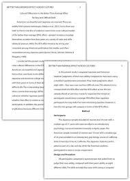 mla essays