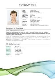 microsoft word resume templates for   cv templates flow short1