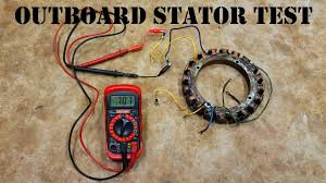How To Test An Outboard <b>Stator</b> - The EASY Way! - YouTube