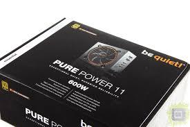 Обзор <b>блока питания be</b> quiet! Pure Power 11 CM 600W (600 Вт ...
