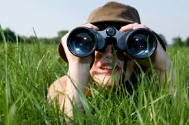 Image result for Woman With Binoculars