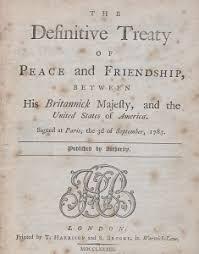 「1783, Treaty of Paris」の画像検索結果