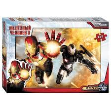 <b>Пазл Step</b> puzzle Marvel Железный человек 3 (95023 ...