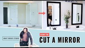 How to Cut a <b>Mirror</b> - YouTube