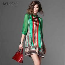 <b>BOUSSAC</b> High Quality Fashion Designer Runway Dress 2018 ...