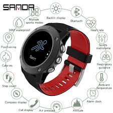 <b>SANDA 2019 New</b> Leather <b>Smart</b> Watch Men Leather <b>Smart</b> Watch ...