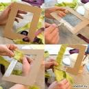 Сделать рамку из картона своими руками