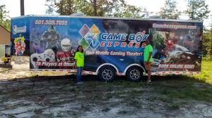 home buy a video game truck work from home based business bridget and jahmal in front of their rig