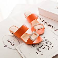 <b>Women</b> Sandals <b>Ladies Summer Slippers Shoes Women</b> Low Heels ...