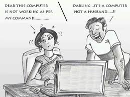 Difference Between Husbands and Computers | Everything Funny ... via Relatably.com