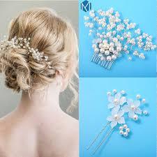 <b>M MISM</b> Rhinestone Flower Bridal Headbands for Women <b>Korean</b> ...