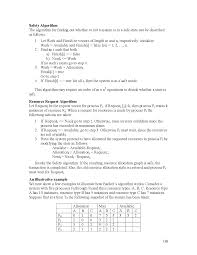 banker algorithm safe sequence introduction to operating system this is only a preview