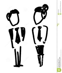 doodle office clerk stock illustration image  doodle office clerk
