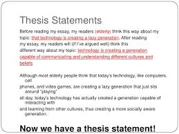 thesis statements lt br   gt