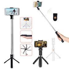 <b>Монопод XIAOMI Mi Selfie</b> Stick Tripod черный - купить недорого в ...