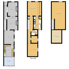 At Long Last  Floor Plans For Our Home   Old Town HomeNow  after putting off the creation of detailed floor plans for quite some time  I finally got myself in gear enough to scrape together a rudimentary floor