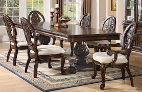 Pedestal Dining Table Coaster Tabitha Double Pedestal Dining Table 101037