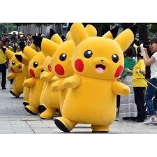 Premium <b>Pikachu</b> Mascot <b>Costume</b> Adult #BigPikachuCostume ...
