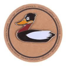 "<b>Значок разноцветный</b> ""Duck"" бренда <b>Запорожец</b> – купить по цене ..."