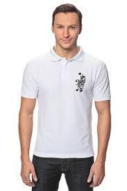 Мужские <b>рубашки поло</b> с символикой знаки/символы