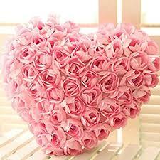 Buy The Purple Tree Valentines Day 3D <b>Rose Heart</b> Cushion Pillow ...