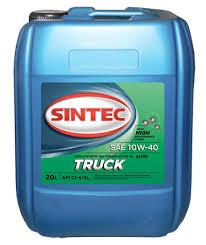 <b>Масло моторное Sintoil</b>/Sintec Truck 10/40 API CI-4/SL (20 л.) с ...