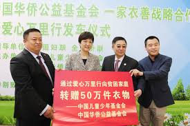 China Charity Steps up Efforts in Clothes Donation Project Women ...