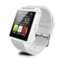 <b>U8 Bluetooth Smartwatch</b> for Smartphones, White: Amazon.in ...