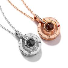 Dropshipping <b>New Rose Gold</b> Silver 100 Languages I Love You ...