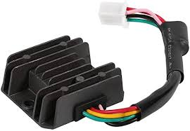 <b>Motorcycle Voltage Regulator</b> Rectifier Stabilizer With 5 Pins for ...